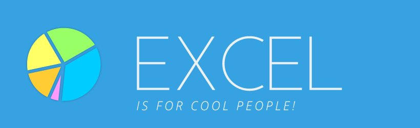 Excel is for cool people.